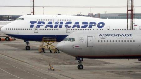 """""""Трансаэро"""" отменила 48 рейсов на 14 октября"""