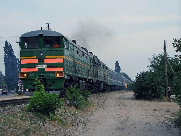 ДНР запускает ежедневный поезд от Донецка до границы с РФ