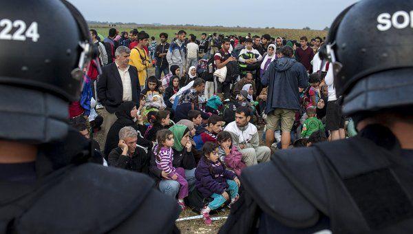 Профсоюз полиции ФРГ требует возвести заграждение на границах страны