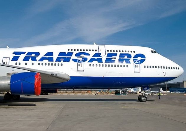 """Авиакомпания """"Трансаэро"""" сообщила об отмене более 80 рейсов на 20 октября"""