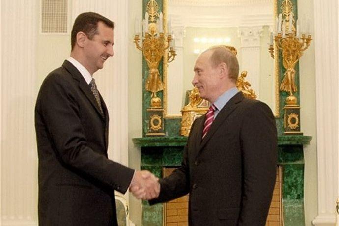 Башар Асад посетил Москву 20 октября
