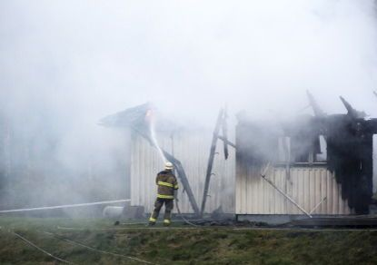 В Швеции злоумышленники подожгли жильё, предназначенное для беженцев