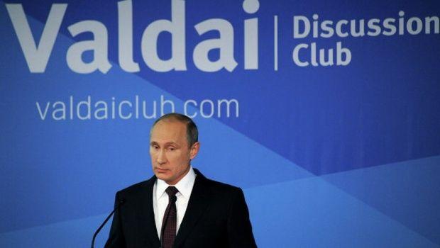 Путин раскритиковал США за поддержку оппозиции и госперевороты