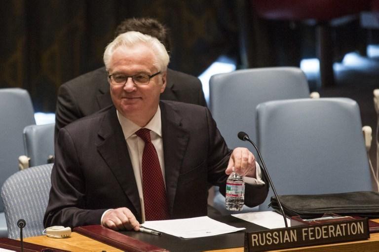 Чуркин: США не захотели сообщить России информацию о позициях террористов в Сирии