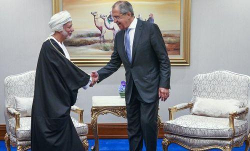 Главы МИД России и Омана обсудили ситуацию в Сирии