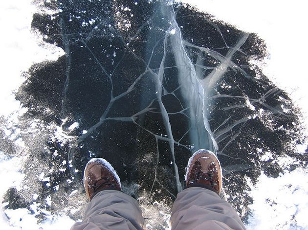 В Иркутской области три ребёнка погибли, провалившись под лёд