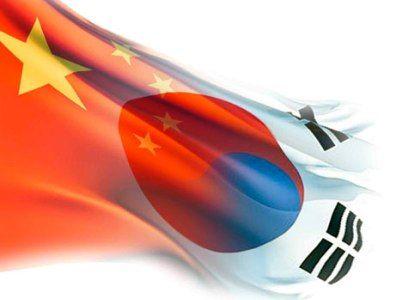 Япония, Южная Корея и Китай смогли устранить часть разногласий