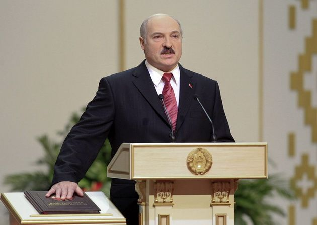 Лукашенко в пятый раз вступил в должность президента Белоруссии