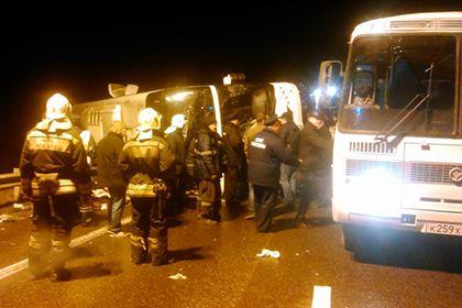 Четыре человека погибли в ДТП с участием микроавтобуса под Брянском