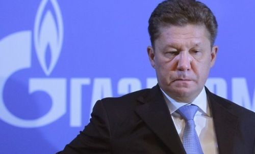 Миллер: Газпром не получал от Украины новой предоплаты за газ