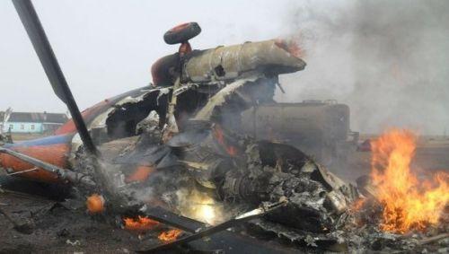 Подтверждена гибель членов экипажа вертолёта Ми-8 в Псковской области