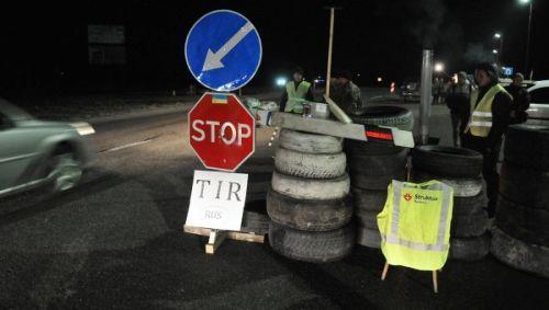Украина разблокирует транзит российских грузовиков по своей территории
