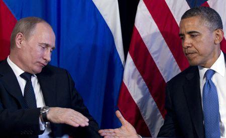 Путин провёл переговоры с Обамой