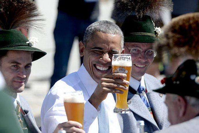 Обама прибыл в Германию для переговоров по трансатлантическому партнёрству