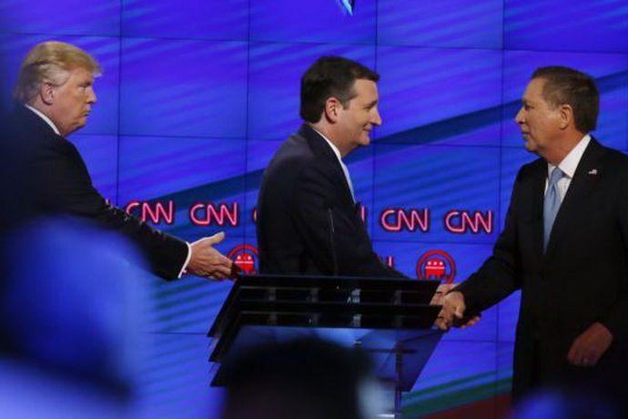 Соперники Трампа по праймериз республиканцев договорились о сотрудничестве