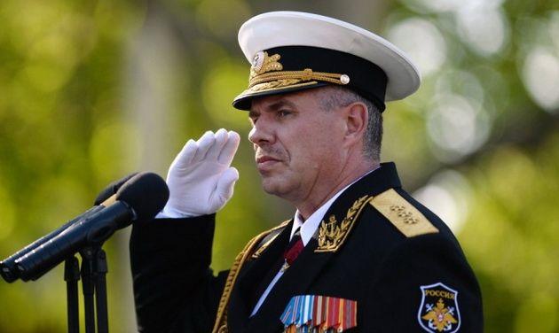Суд Киева разрешил задержать командующего Черноморским флотом РФ