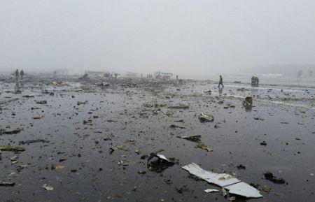 На разбившемся в Ростове Boeing следов взрывчатки не найдено