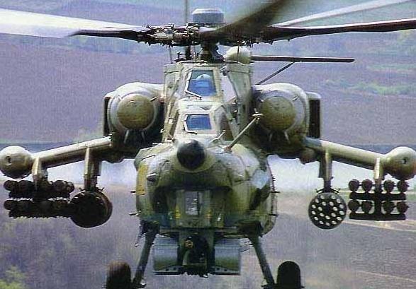 Российский вертолет разбился в Сирии