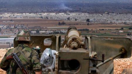 Террористы в Сирии обстреляли турецкую территорию