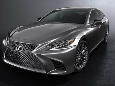 Lexus показал новое поколение седана LS
