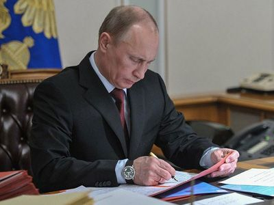 Путин подписал указ обустановлении Дня войск национальной гвардии Российской Федерации