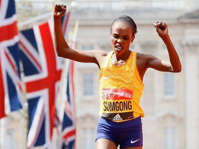 Sumgong to defend London marathon title