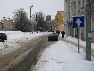 С 17 января участок 5-й Парковой улицы в Москве стал односторонним