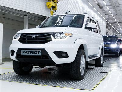 UAZ in 2016 sold in the Russian market 48848 cars