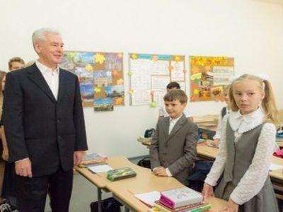 Собянин: Москва продолжает активно развивать информатизацию школ