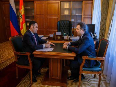 В Правительстве Тверской области обсудили вопросы взаимодействия в сфере правовых отношений