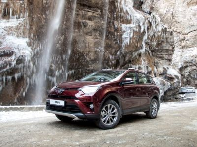 Toyota RAV4 has become the market leader in the Far East in 2016