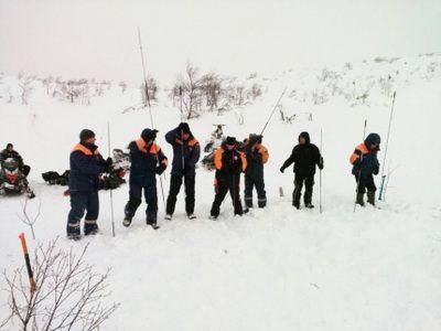 В Мурманской области завершены поисковые работы после схода лавины