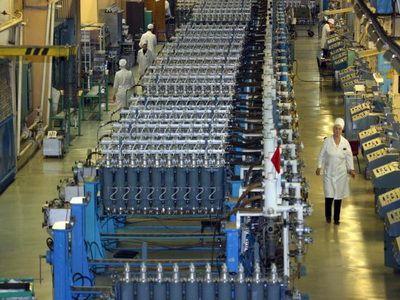Первый модуль очистительных газовых центрифуг запущен на ЭХЗ