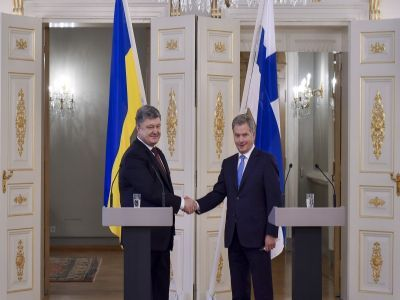 Ukraine and Finland are bonded not only by a centenary tradition of cooperation