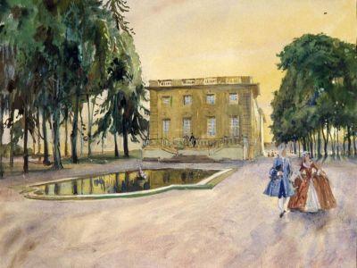 Произведения династии художников Бенуа-Лансере покажут в Вологде