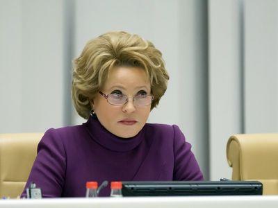 Валентина Матвиенко почтила память жертв Холокоста