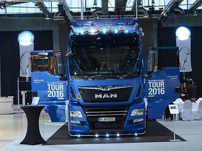 Roadshow shows the strength of the lion marque: MAN's European tour with new TG models