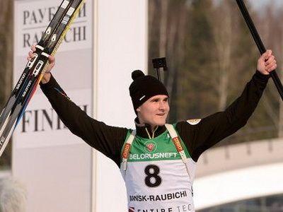 Кирилл Стрельцов выиграл спринт на этапе юниорского Кубка IBU в Поклюке