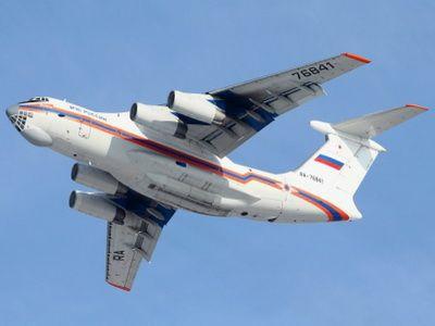 МЧС России направило в Республику Чили самолет Ил-76 для тушения лесных пожаров