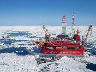 """ООО """"Газпром бурение"""" закончило строительством 10 скважин на Приразломном месторождении"""