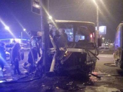 В Петербурге возбуждено уголовное дело по факту ДТП с участием маршрутного такси