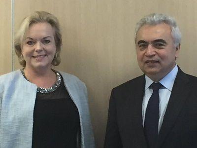 The IEA's executive director, Dr Fatih Birol, visited New Zealand