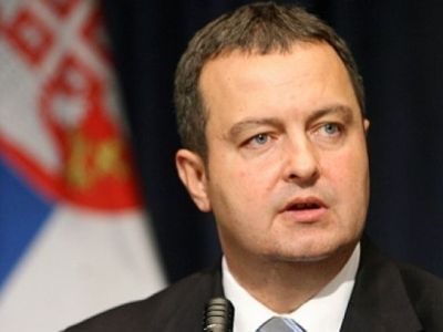 Reaction by First Deputy Prime Minister and Minister of Foreign Affairs of the Republic of Serbia Ivica Dacic
