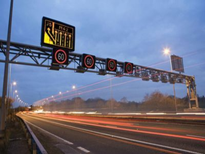 Highways England to install new barriers to help cut out traffic noise for people living along a section of the M40