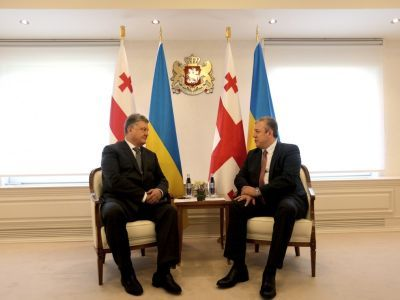 Petro Poroshenko held negotiations with the Prime Minister of Georgia