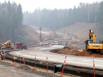 Сбербанк, Газпромбанк и ЕАБР профинансируют строительство платного 105-ти километрового участка ЦКАД