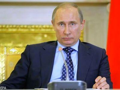 Патриарх Кирилл поздравил Путина с 65-летием
