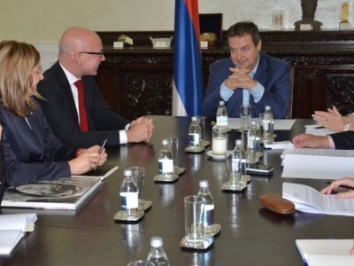 Minister Dacic has talks with Director General of the International Committee of the Red Cross