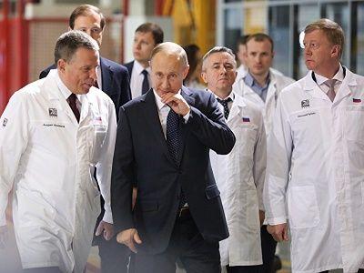 Президент РФ посетил Челябинский компрессорный завод