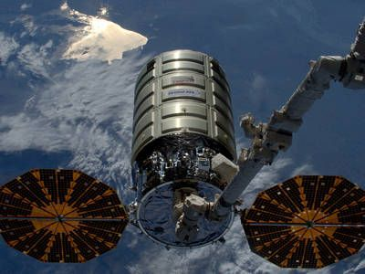 The latest Cygnus spacecraft to deliver cargo to ISS has been successfully launched by an Antares rocket from Wallops Island